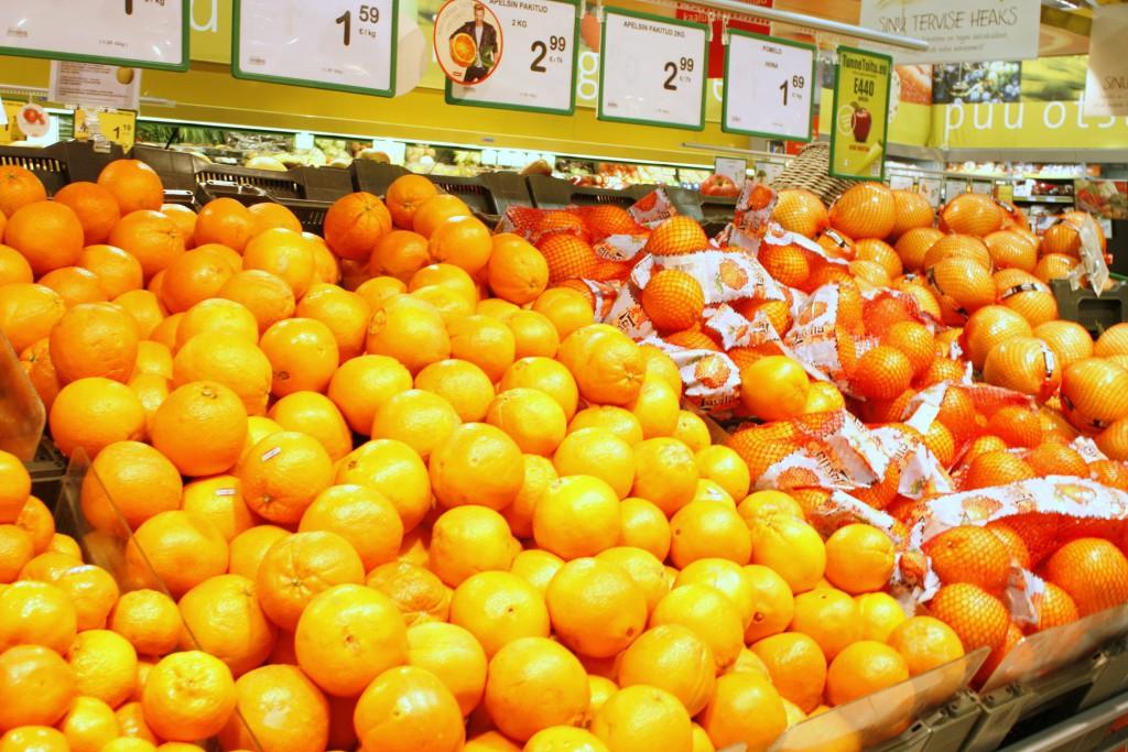 Eesti suurima jaeketi Rimi müügitulemused näitavad, et Eesti tarbijad eelistavad magusamaid õunu ja suuremaid apelsine