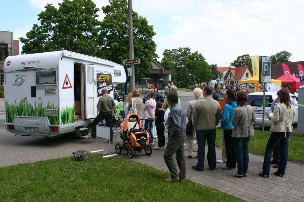 12. aprillil jõuab Viljandisse taas vaktsiinibuss
