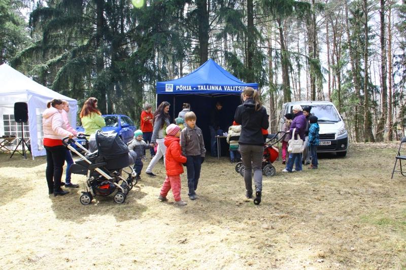 Linnaosade perede ühine tervisepäev Tallinna loomaaias