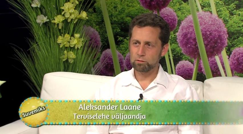 VAATA VIDEOT! Aleksander Laane räägib TTV saates Suvemiks Terviselehe käekäigus