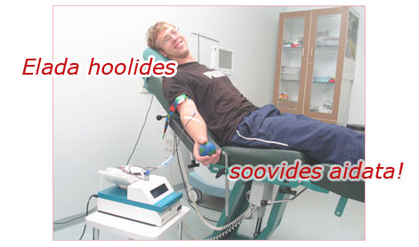 Tallinnas loovutas doonoritelkides verd 170 inimest