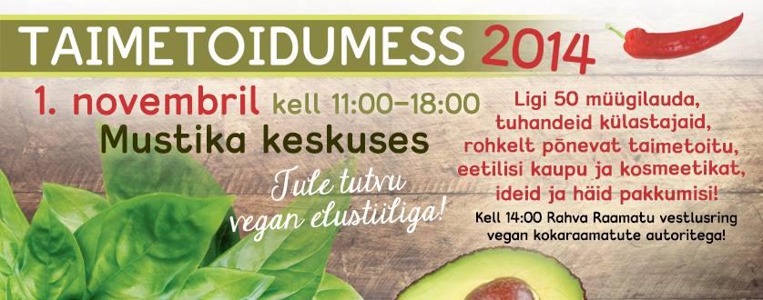 Rahvusvaheline veganpäev toob kaasa taimetoidumessi