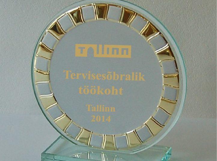 Tallinn tunnustab tervisesõbralikke töökohti