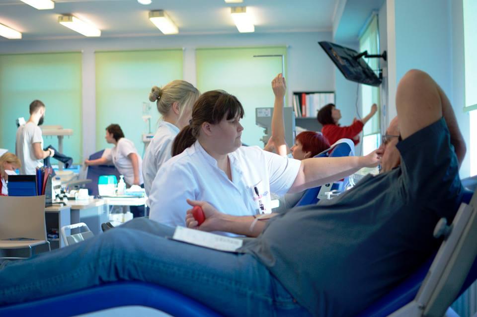 HEA TEGU! Tallinnas annetasid 76 doonorit 35 liitrit verd
