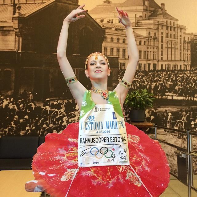 TERVISENÄDAL! Rahvusooperi tervisenädalal sammutakse Eestile ring peale