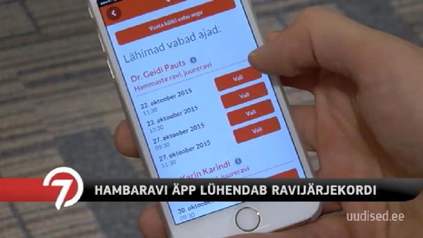 TV3 VIDEO! UUS MUGAV RAKENDUS! Mugav hambaraviäpp teeb arstijärjekorrad lühemaks
