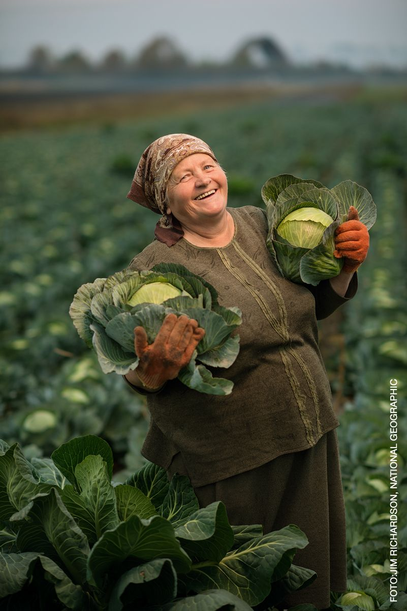 """Tervishoiumuuseum avab National Geographicu fotonäituse """"Tuleviku toit"""""""