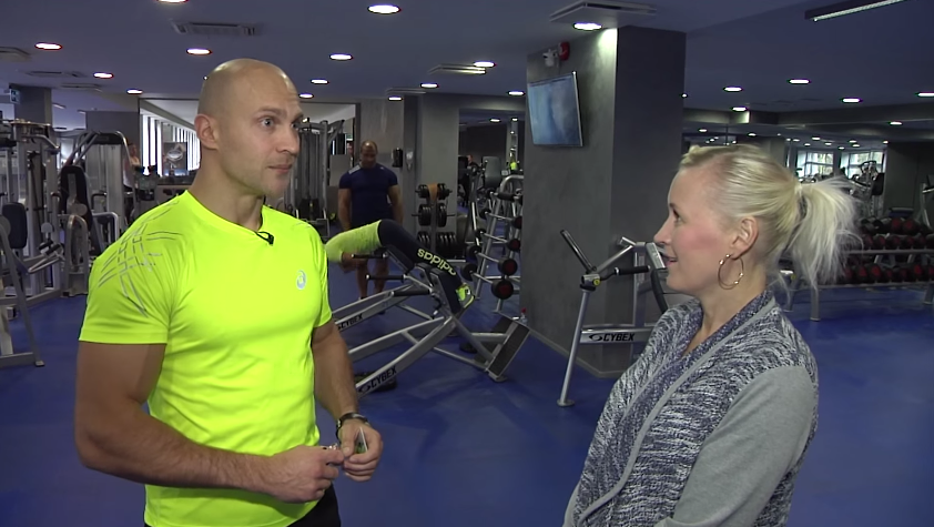 """VAATA SAADET! """"KAS TOHIB?"""" Spordiklubi Teras treener Roman Gritsanjuk peab õigeks enda vormis hoidmist, mitte vormi ajamist"""