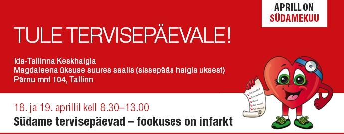 TERVISEPÄEV! Ida-Tallinna Keskhaigla kutsub tervisepäevale