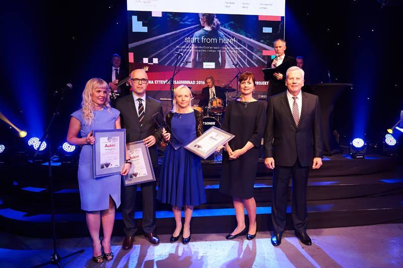 TUNNUSTUS! Eesti tervisetehnoloogia klaster tunnistati parimaks koostööprojektiks