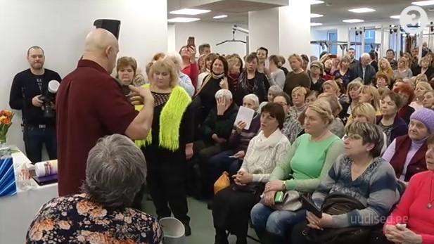 Video! Rahvahordid vallutasid Tallinnas vastavatud doktor Bubnovski taastusravikeskuse