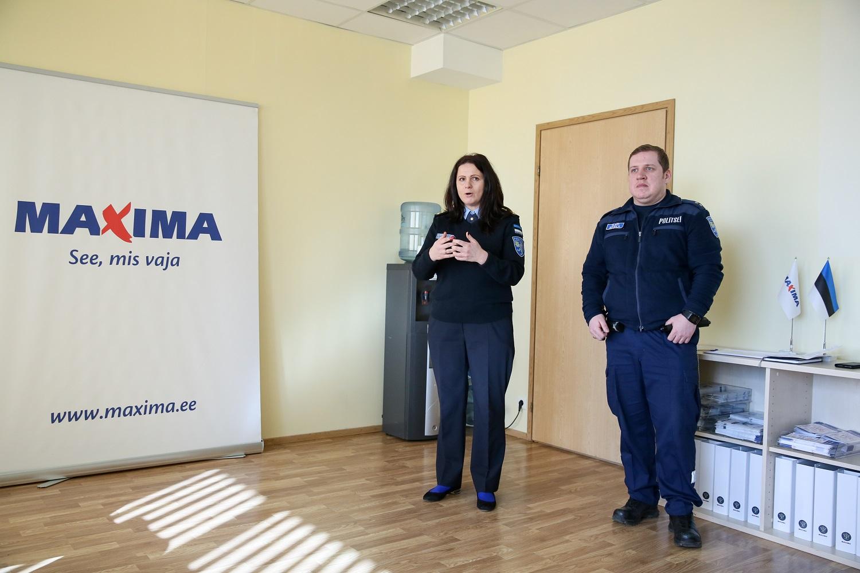 Vastutustundlik suhtumine! Politsei alustas koostöös Maximaga müüjate koolitamist alkoholimüügi alal