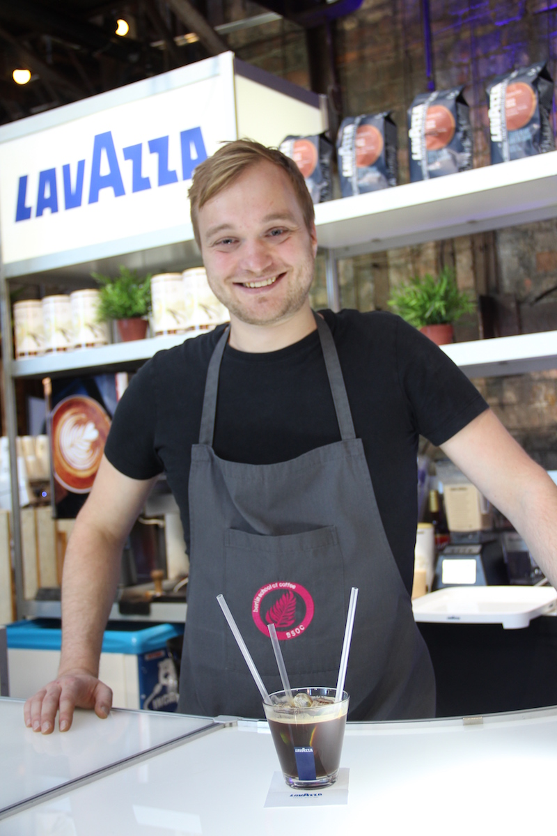 Kohvikoolitaja Joachim Kuehne