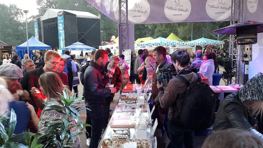 Muusikafestivalil tarbitakse üha rohkem salateid