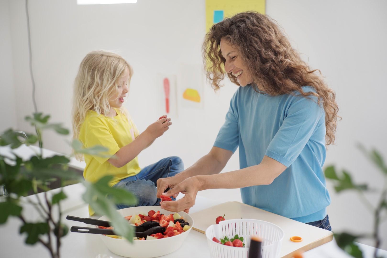 6 head ideed, mille abil laps salateid sööma panna