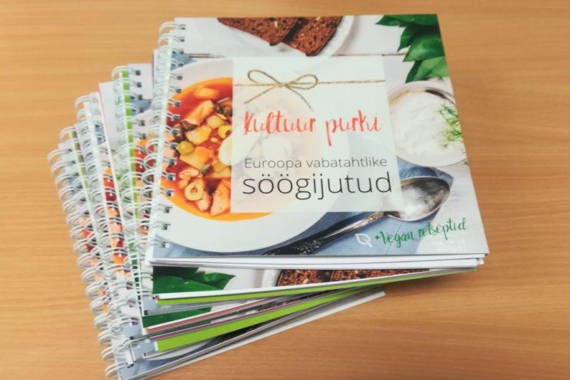 Retseptiraamat tutvustab Euroopa vabatahtlike köögilugusid