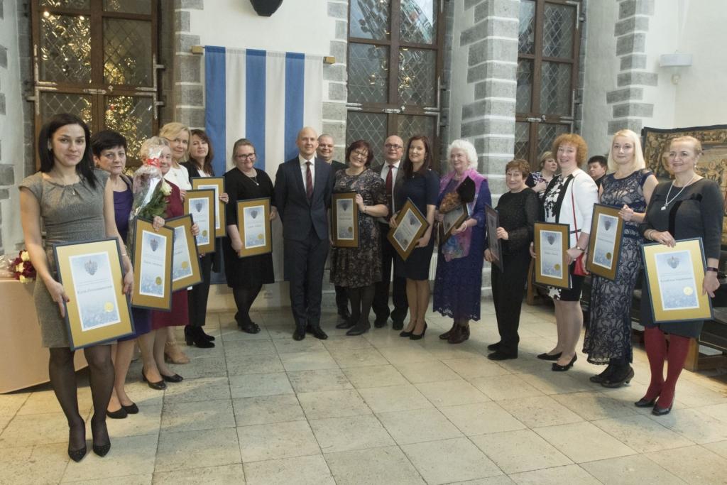 PALJU ÕNNE! Tallinn tunnustas parimaid tervishoiutöötajaid