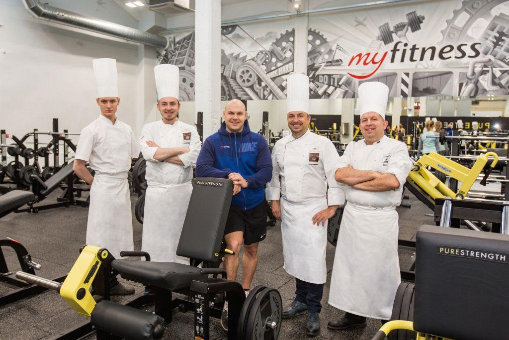 FOTOD! Eesti võistluskokad treenivad maitsemeelte kõrval ka füüsilist vormi