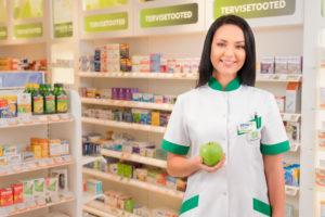 Farmatseut Helle Saad