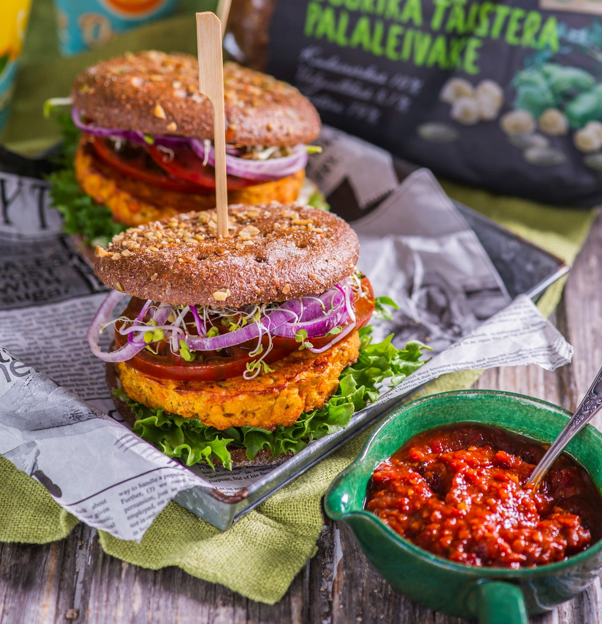 Retseptisoovitus: figuurisõbralik juurika-burger