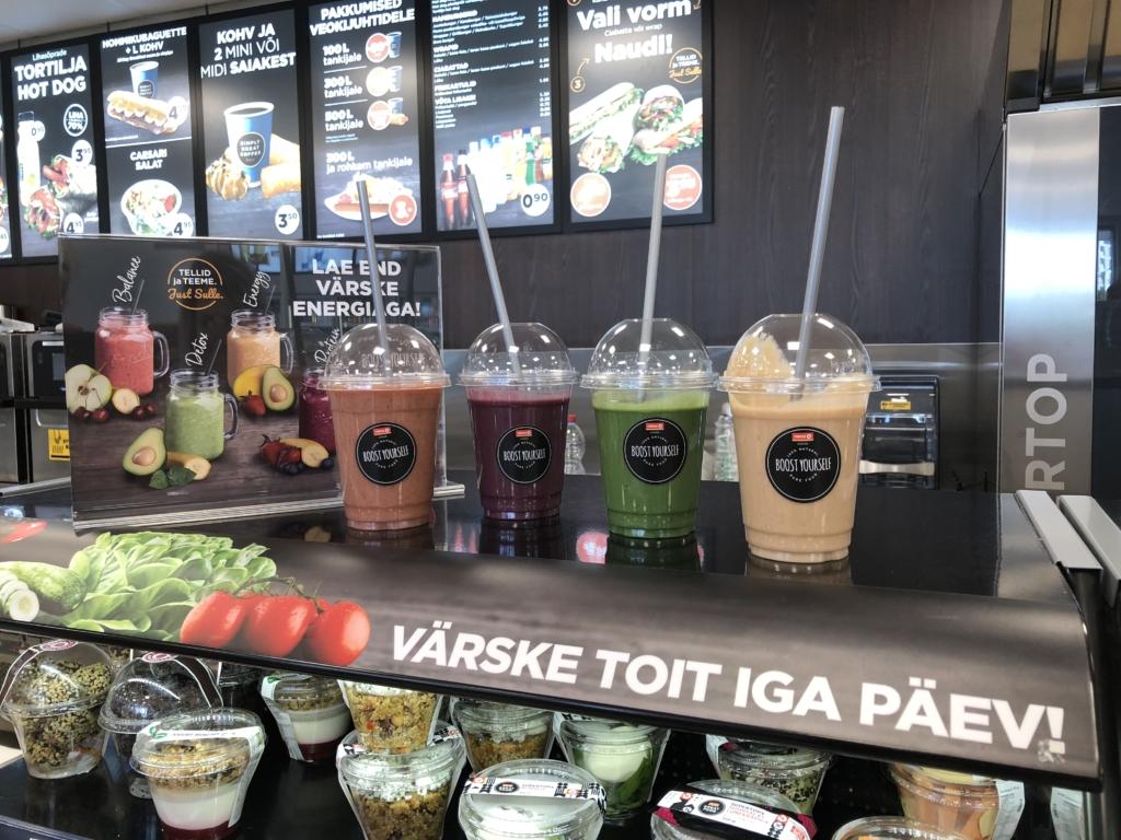 Nüüd saab Circle K teenindusjaamadest osta ka Boost Yourself tervislikke smuutisid!