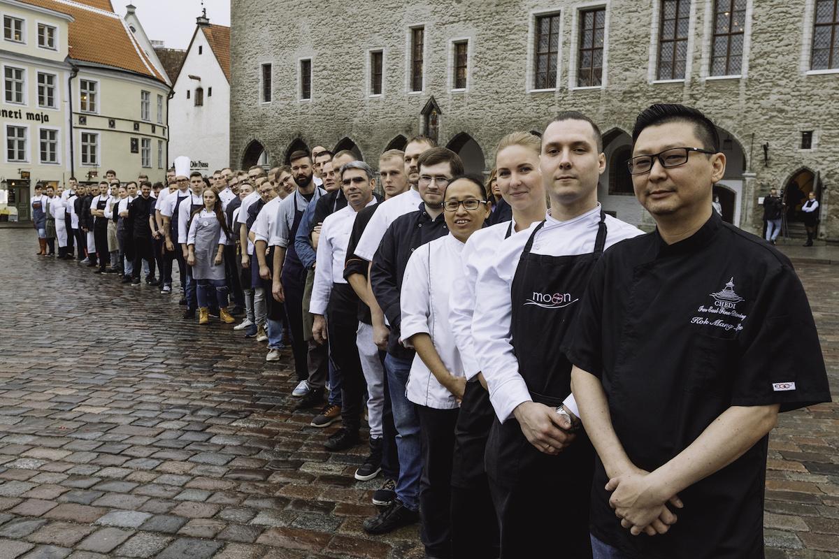 61 tippkokka avasid Tallinna restoranide nädala