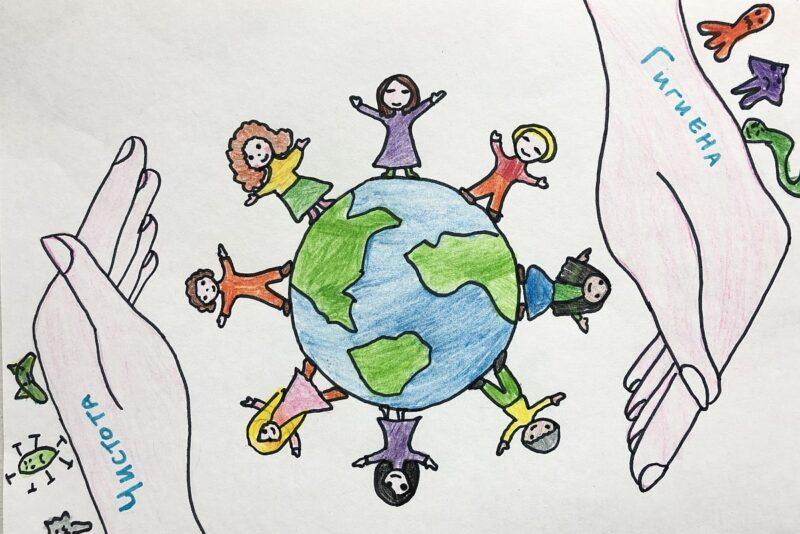 Tallinna kooliõed õpetavad ülemaailmsel kätepesupäeval õigesti käsi pesema