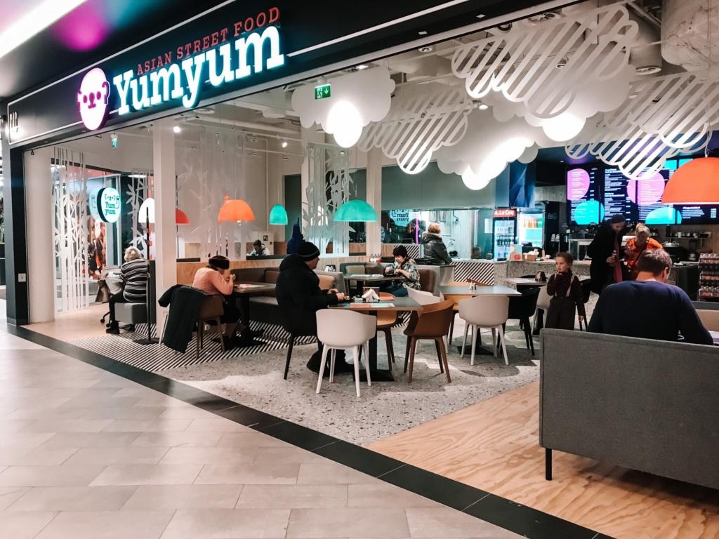 Kristiine keskuses avati noortepärane Aasia tänavatoidurestoran Yum-Yum