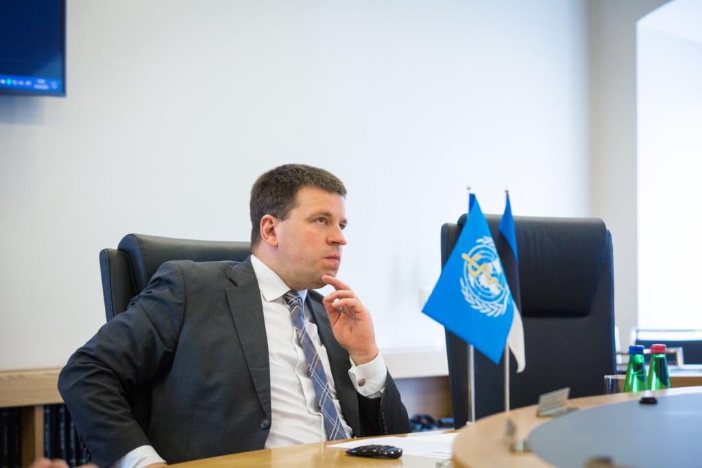 WHO I Jüri Ratas: Soovime WHOga koostööd terviseandmete riikidevahelise vahetuse digitaliseerimiseks