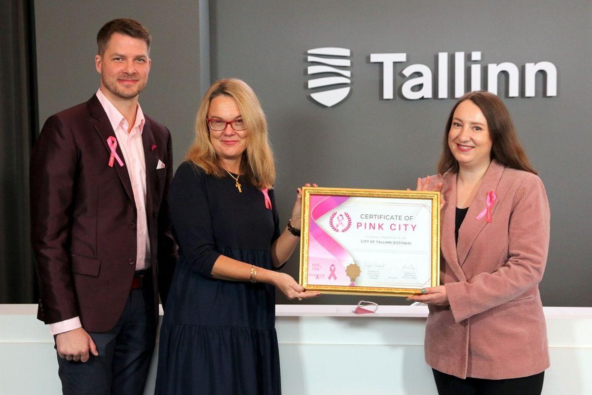 Tallinn pälvis Pink City tunnustuse